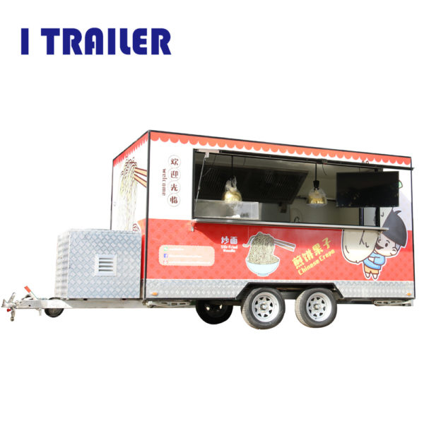 Can rent stalls multi-purpose fast food car electric four-wheeled breakfast car commercial food motorhome can be licensed