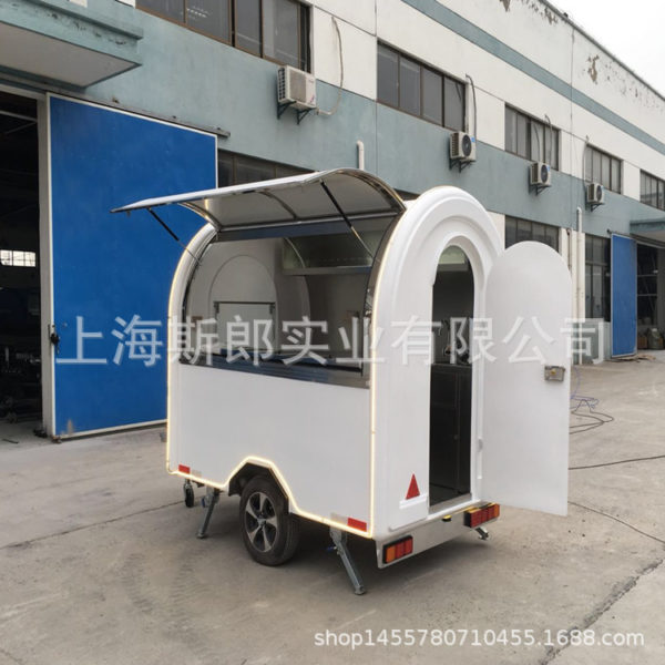 Factory direct sales trailer-style gourmet snack car outdoor mobile barbecue car night market stalls start-up car specials
