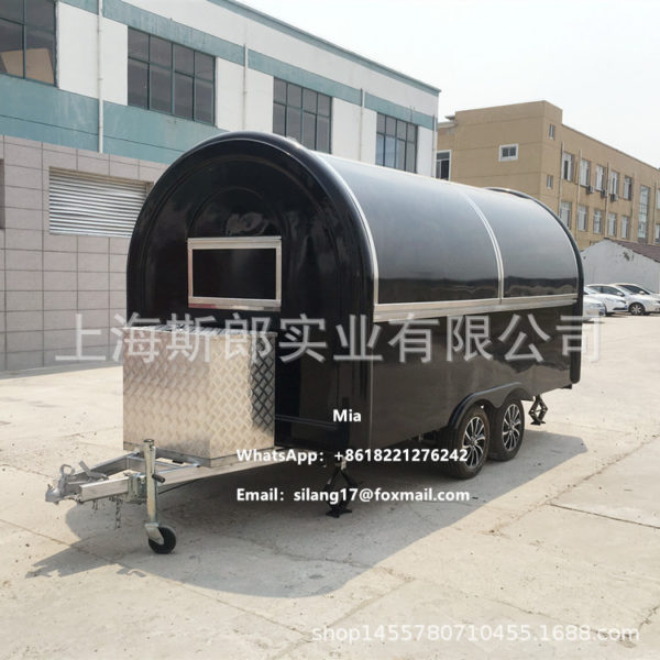 Factory export motorhome mobile store fast food cold drink truck multi-functional food driver grab cake barbecue manufacturer custom