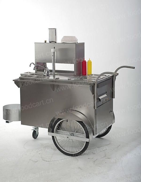 Processing and sales of high-quality new products multi-functional hot dog car, Kantong cooking snack car, breakfast car can be licensed