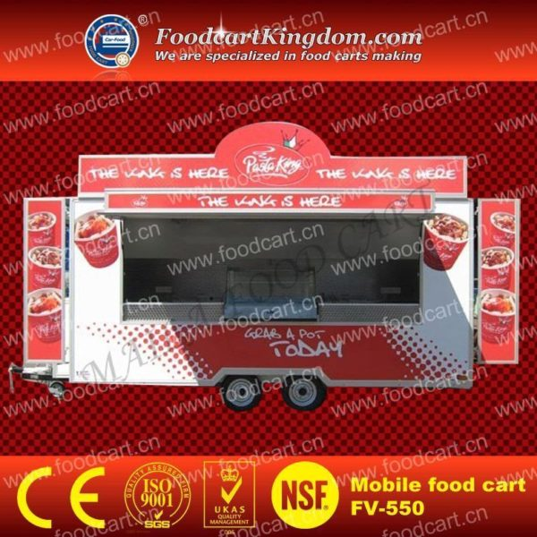 Multi-functional mobile snack car rental van takeaway truck Kandong cooked barbecue car can be rented can be licensed