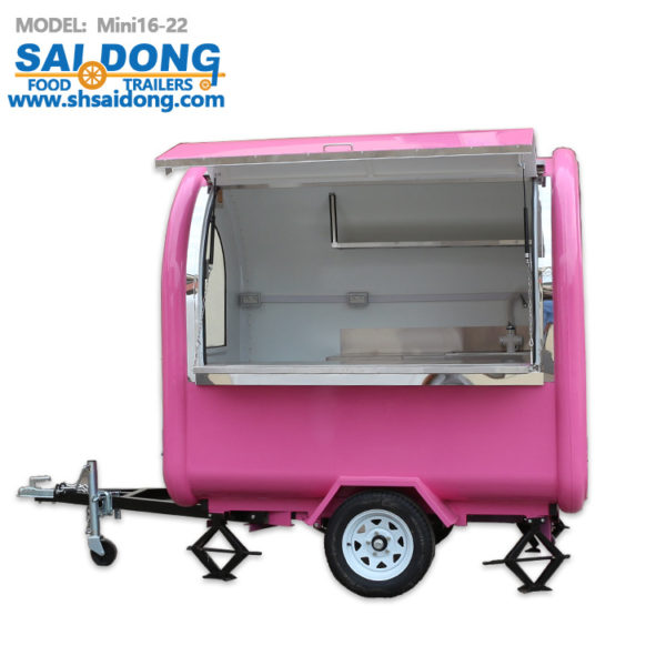 Factory direct export tractor breakfast car, export food truck, coffee truck / food trailers