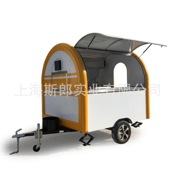 Factory direct export Chile Netherlands Czech standard milk tea cart outdoor kiosk-type food truck ordered
