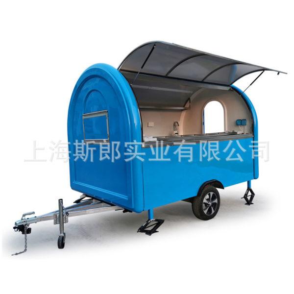 Factory direct sales custom Australian European standard coffee car food trailer coriance lunch tractor