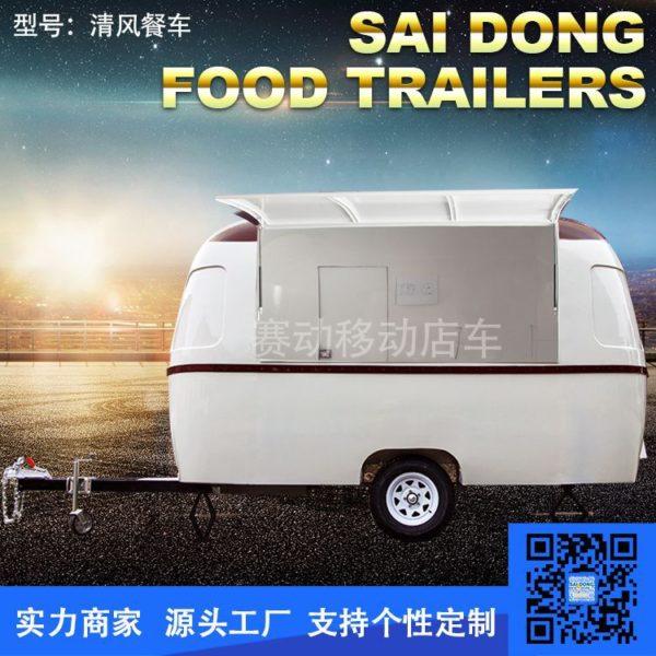 Night market food trucks, food carts, mobile shops, mobile goods, scenic shops