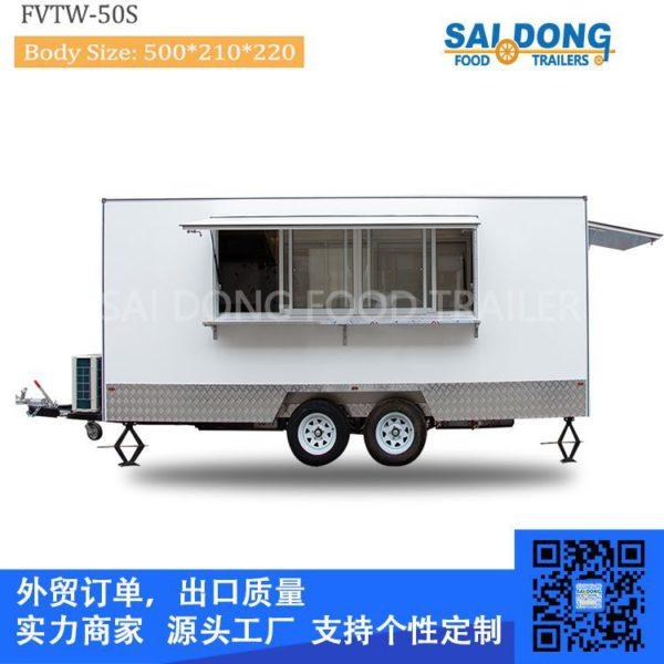 Manufacturers custom export food truck, trailer, coffee cart, multi-purpose food truck