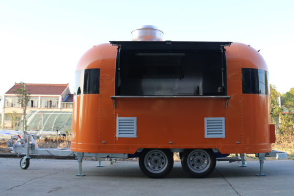 Mobile custom food truck snack cart
