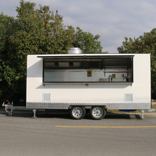 Multi-functional food truck mobile barbecue car food truck