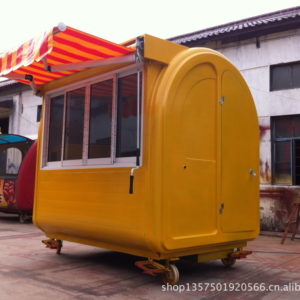 Snack car Food truck Barbecue car can be rented can be licensed