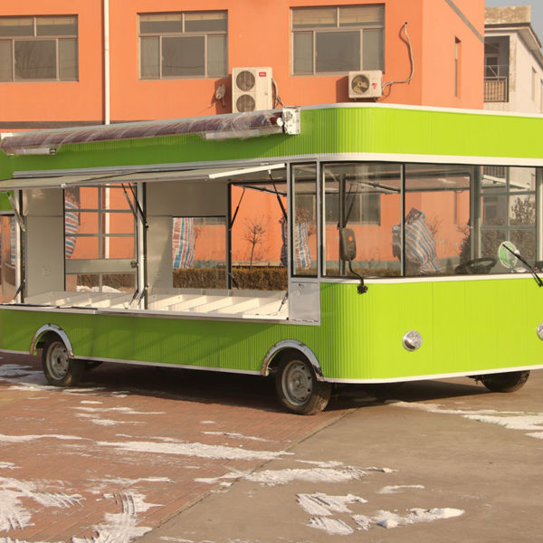 Electric breakfast snack truck manufacturers mobile barbecue cold drink car fruit and vegetables supermarket car cold vegetable cart wide customization
