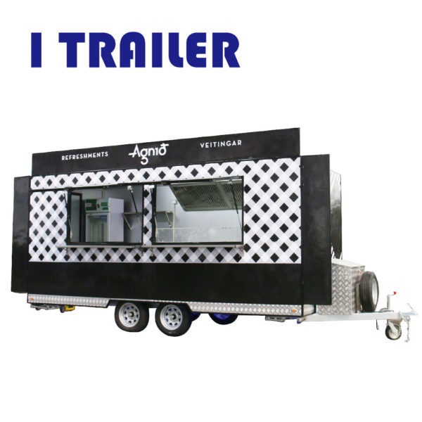 Multi-purpose Street View Dining Car Four-wheeled snack cart Mobile gourmet dining car can be customized and can be rented and licensed