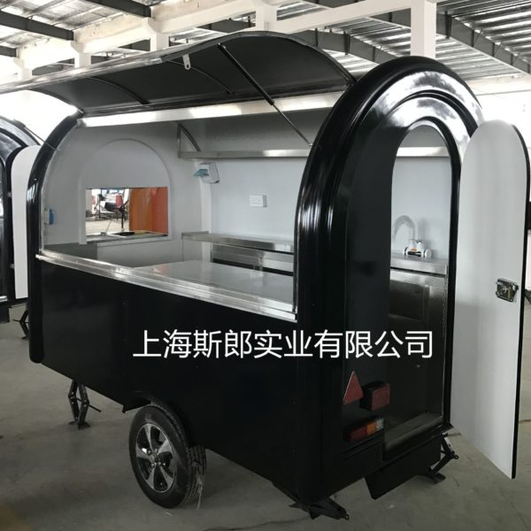 Spicy hot fried mobile stalls snack cart shop food truck can be ordered