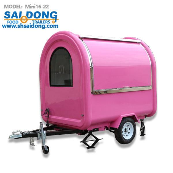 Factory direct export tractor breakfast car, export food truck, coffee truck / food trailers